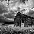 Homestead Under Stormy Sky by Dan Jurak