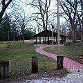 Homewood Izzak Walton Pavilion - Fall by Frank J Casella