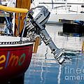 Honda Boat Engine by Les Palenik