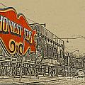 Honest Eds On Markham Street by Nina Silver