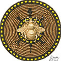 Honey Bee Turtle by Douglas K Limon