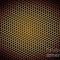 Honeycomb Background by Henrik Lehnerer