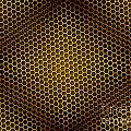 Honeycomb Background Seamless by Henrik Lehnerer