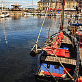 Honfleur Harbor  by Dave Mills