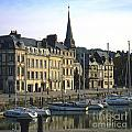 Honfleur Harbour. Calvados. Normandy. France. Europe by Bernard Jaubert
