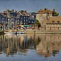 Honfleur In Normandy France by Jean-Pierre Ducondi
