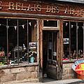 Honfleur Shop Front by Aidan Moran
