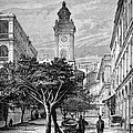 Hong Kong Street Scene, 1880s by Bildagentur-online