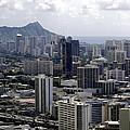 Honolulu - Diamond Head - Pacific by Daniel Hagerman