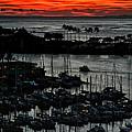 Honolulu Marina Sunset by Kate McKenna