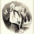 Honoré Daumier French, 1808-1879, Les Crêpes by Litz Collection