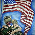 Honor Our Troops by Tia Maria - Fine Artist