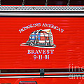 Honoring Americas Bravest Sept 11 by Thomas Woolworth