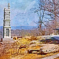 Honoring The American Heroes Of Gettysburg - 1 by Digital Photographic Arts