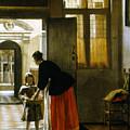 Hooch Boy & Bread, C1663 by Granger