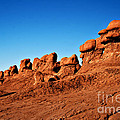Hoodoos Row by Robert Bales