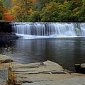 Hooker Falls In Color by Ivan Gibson