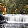 Hooker Falls In North Carolina by Jill Lang