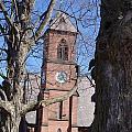 Hoosick Falls Brick Church by Eric Swan