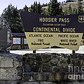 Hoosier Pass by Jerry Fornarotto