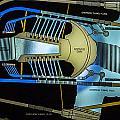 Hoover Dam Diagram by Angus Hooper Iii
