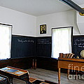 Hoover Historic Site Schoolhouse Classroom by Catherine Sherman