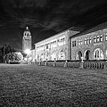 Hoover Tower Stanford University Monochrome by Scott McGuire