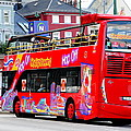 Hop On And Hop Off Bus In Bergen by Laurel Talabere
