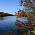 Hopeville Autumn Reflections     by Neal Eslinger