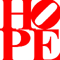 Hope 20130710 Red White by Wingsdomain Art and Photography