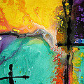 Hope - Colorful Abstract Art By Sharon Cummings by Sharon Cummings