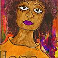 Hope For Tomorrow - Journal Art by Angela L Walker
