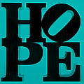 Hope In Light Blue by Rob Hans