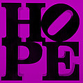Hope In Purple by Rob Hans