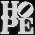 Hope Inverted Black by Rob Hans