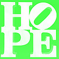 Hope Inverted Green by Rob Hans