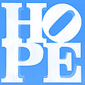 Hope Inverted Light Blue by Rob Hans