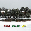 Hope Peace Joy by Lydia Holly