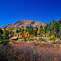 Hope Valley Rustic Barn Fall Color by Scott McGuire