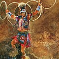 Hopi Hoop Dancer by Marilyn Smith