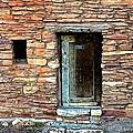 Hopi House Back Entrance by Barbara Zahno