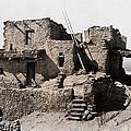 Hopi Hilltop Indian Dwelling 1920 by Daniel Hagerman