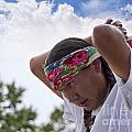 Hopi Indian Preparing  by Brenda Kean