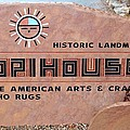 Hopihouse Sign by Cynthia Guinn