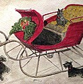 Hoping For A Sleigh Ride by Angela Davies