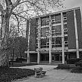 Hopkins Hall Osu Black And White  by John McGraw