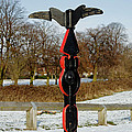 Horninglow Linear Park Signpost by Rod Johnson