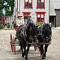 Horse And Buggy Sc3643-13 by Randy Harris