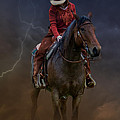 Horse And Rider by Jerry Fornarotto