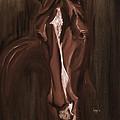 Horse Apple Warm Brown by Go Van Kampen